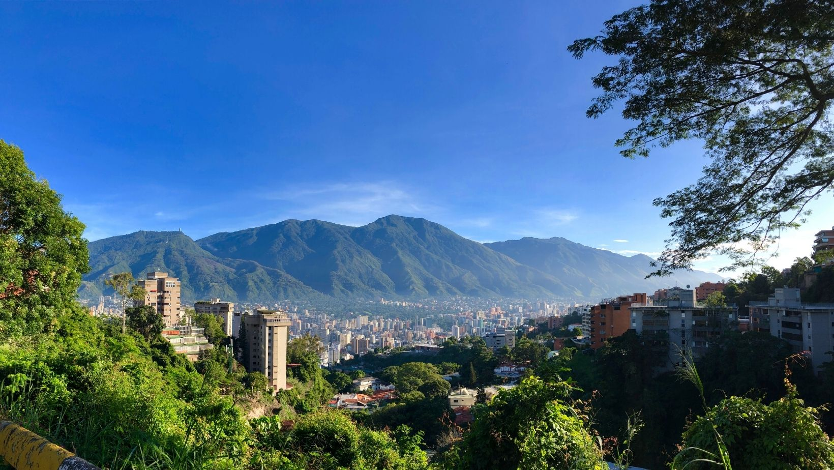 Caracas desde la colina